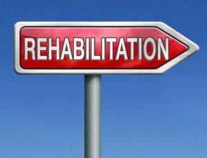 rehabilitation sign